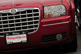26 August 2012 - A Chrysler 300 vehicle is seen in the lot at White Rock Chrysler Ltd., in Surrey, B.C., Canada. Credit: Adrian Brown - N49Photo.
