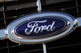 27 August 2012 - The Ford name and logo is seen on a vehicle in the lot at the Ocean Park Ford dealership, in Surrey, B.C., Canada. Credit: Adrian Brown - N49Photo.