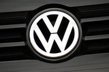 28 August 2012 - The Volkswagen logo is seen on the front of a vehicle in the lot at Gold Key White Rock Volkswagen, in Surrey, B.C., Canada. Credit: Adrian Brown - N49Photo.