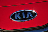 30 August 2012 - The Kia logo is seen on the front of a vehicle in the lot at Applewood Kia, in Langley, B.C., Canada. Credit: Adrian Brown - N49Photo.