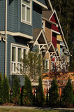 07 September 2012 - A row of new homes is seen in a subdivision in Surrey, B.C., Canada. Credit: Adrian Brown - N49Photo.