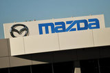 15 September 2012 - The Mazda name and logo is seen on the exterior of Midway Mazda, in Surrey, B.C., Canada. Credit: Adrian Brown - N49Photo.