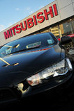 26 September 2012 - A Mitsubishi vehicle is seen in the lot at the Flag Mitsubishi dealership, in Surrey, B.C., Canada. Credit: Adrian Brown - N49Photo.