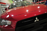 26 September 2012 - A Mitsubishi vehicle is seen in the showroom at the Flag Mitsubishi dealership, in Surrey, B.C., Canada. Credit: Adrian Brown - N49Photo.