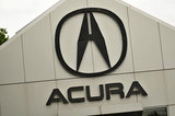 22 September 2012 - The Acura name and logo is seen on the exterior of the Acura of Langley dealership, in Langley, B.C., Canada. Credit: Adrian Brown - N49Photo.