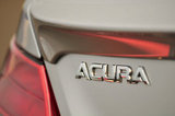 22 September 2012 - The Acura name is seen on the back of a vehicle in the lot at the Acura of Langley dealership, in Langley, B.C., Canada. Credit: Adrian Brown - N49Photo.
