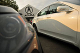 22 September 2012 - Acura vehicles are seen in the lot at the Acura of Langley dealership, in Langley, B.C., Canada. Credit: Adrian Brown - N49Photo.