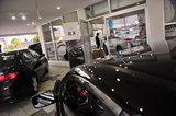 22 September 2012 - Acura vehicles are seen in the showroom at the Acura of Langley dealership, in Langley, B.C., Canada. Credit: Adrian Brown - N49Photo.