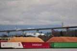 SEASPAN BARGES WOODCHIPS